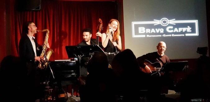 Valentina quartetto live