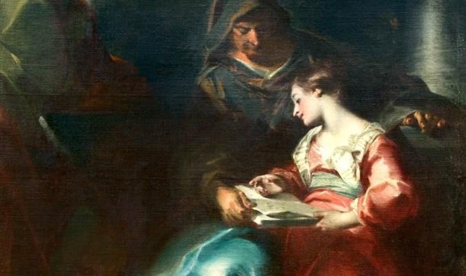 Educazione della Vergine, museo MAST, 1729 - Giuseppe Bazzani 11