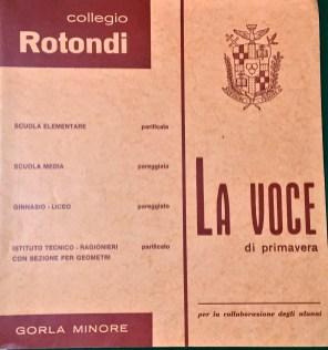 VOCE COLLEGIO ROTONDI MARZO 1968