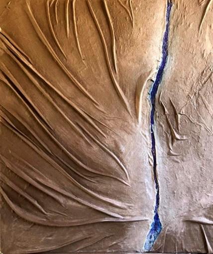 mary sperti senza titolo PITTOSCUTURA. tecnica mista. Tessuto resina e cemento