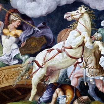 CON NUOVA E STRAVAGANTE MANIERA GIULIO ROMANO A PALAZZO DUCALE MANTOVA