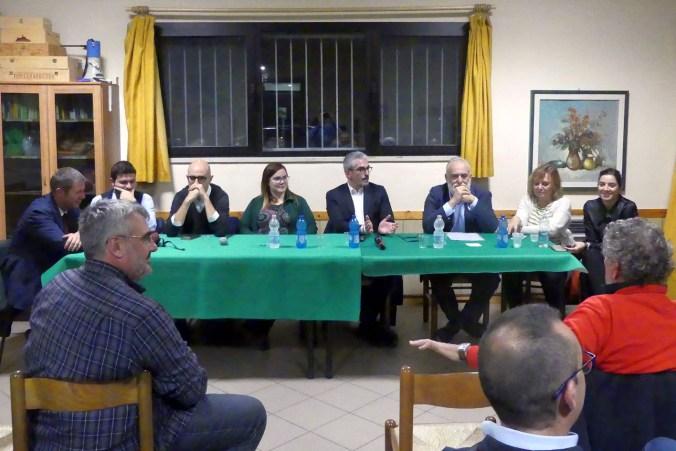 GIUNTA PALAZZI A CONFRONTO CON GLI ABITANTI DI CASTELLETTO BORGO