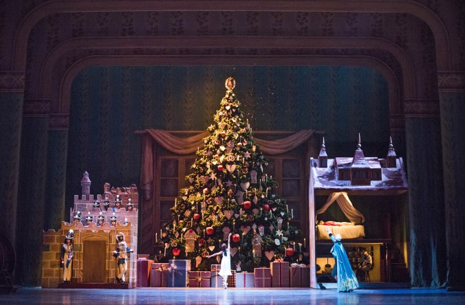 Artists of The Royal Ballet in The Nutcracker (c) 2015 ROH. Photograph by Tristram Kenton
