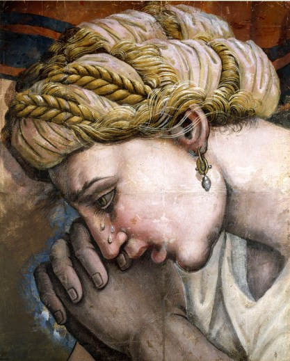 Giulio Romano, Frammento di cartone per il 'Massacro degli Innocenti, Oxford, Christ Church Pictures Gallery