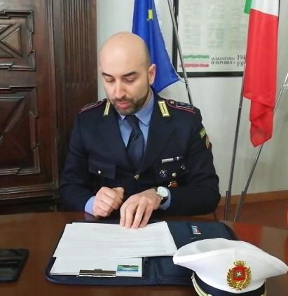 Il comandante Andrea Pollini