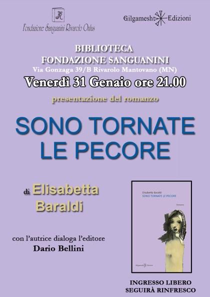 Locandina SONO TORNATE LE PECORE  in Fondazione Sanguanini 31-01-2020.jpg
