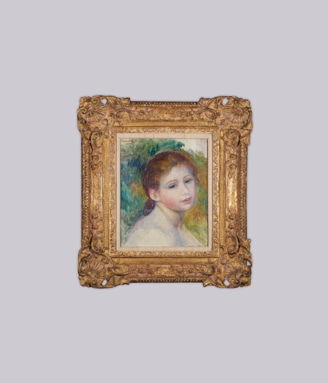 Pierre-Auguste Renoir_Tête de femme_1887