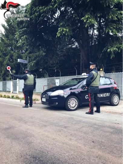 carabinieri sabbioneta