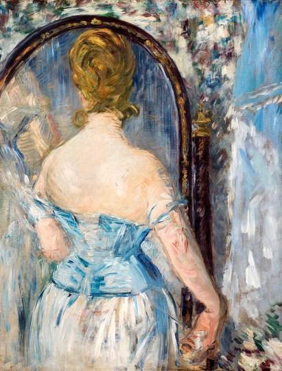 8. Manet Davanti allo specchio