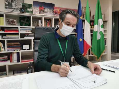 Attilio Fontana presidente Regione Lombardia
