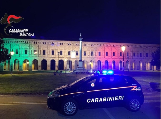 Carabinieri Sabbioneta tricolore