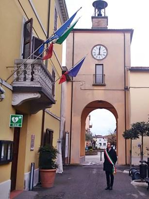 Enea Emiliani, sindaco di Sant'Agata sul Santerno