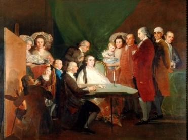 Francisco-de-Goya-y-Lucientes-La-famiglia-dellinfante-don-Luis-1783-84-olio-su-tela