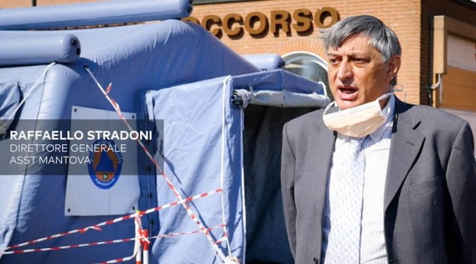 RAFFAELLO STRADONI DIRETTORE GENERALE ASST MANTOVA