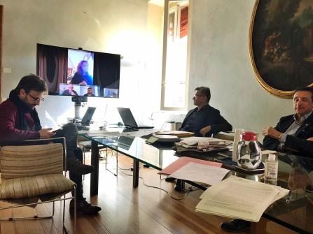 Riunione della giunta dellUnione dei Comuni della Bassa Romagna, 11 marzo 2020 (2).jpeg