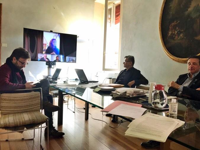 Riunione della giunta dellUnione dei Comuni della Bassa Romagna, 11 marzo 2020 (2).jpeg.jpg