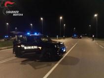 controlli notturni carabinieri viadana
