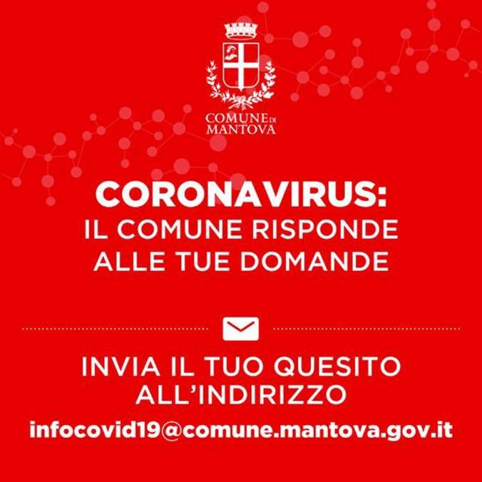 info coronavirus mantova