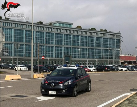 gazoldo degli ippoliti - controllo dei carabinieri
