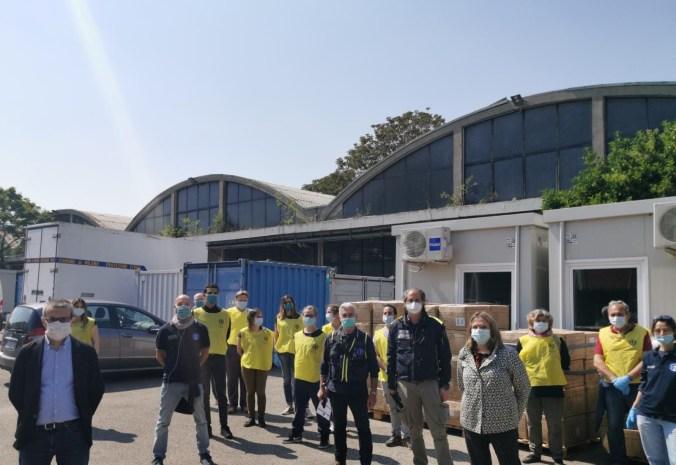 regione lombardia consegna le mascherine alla città di milano 1 (1)