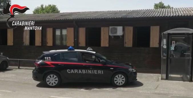BAGNOLO SAN VITO - FURTI ESERCIZI COMMERCIALI - CARABINIERI DENUNCIANO TRE MINORENNI1