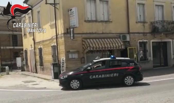 BAGNOLO SAN VITO - FURTI ESERCIZI COMMERCIALI - CARABINIERI DENUNCIANO TRE MINORENNI3