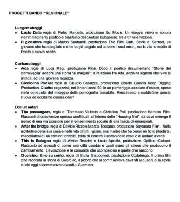 Elenco opere sostenute_ 26 maggio2 copia