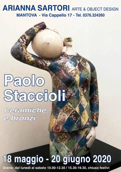 PAOLO STACCIOLI GALLERIA ARIANNA SARTORI
