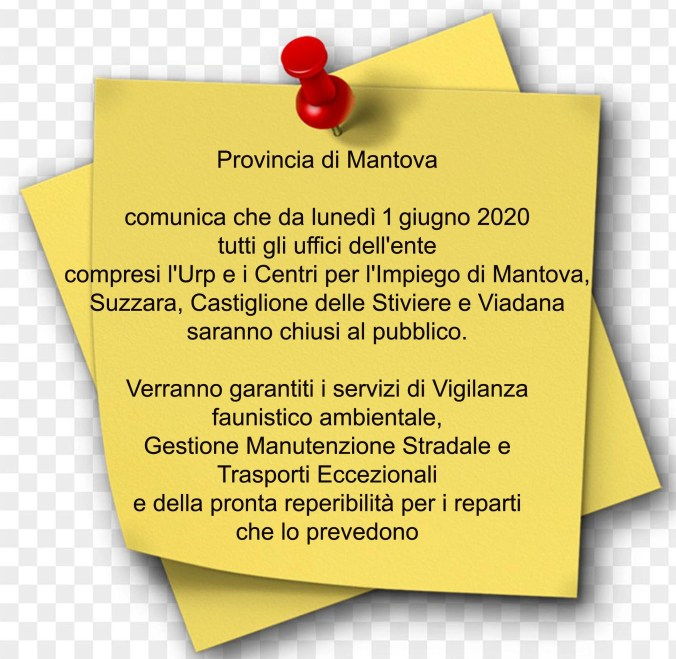 UFFICI PROVINCIA DI MANTOVA