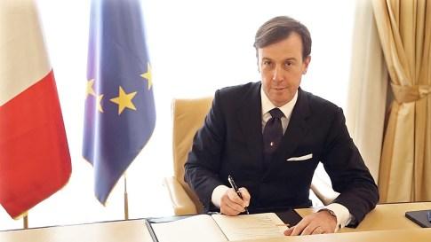L'Amministratore delegato di Cassa Depositi e Prestiti, Fabrizio Palermo