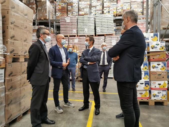 Fontana e Bolognini in visita all'Associazione Banco Alimentare della Lombardia (2)