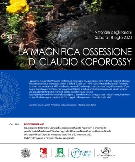 INVITO Koporossy al Vittoriale degli Italiani