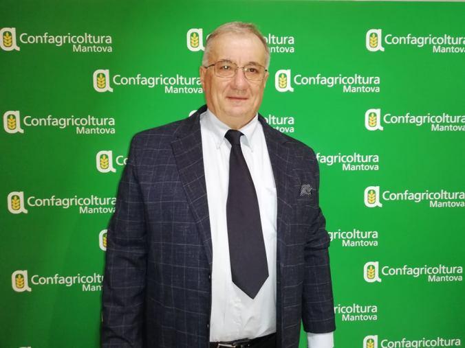 Il presidente del Consorzio Grana Padano, Renato Zaghini