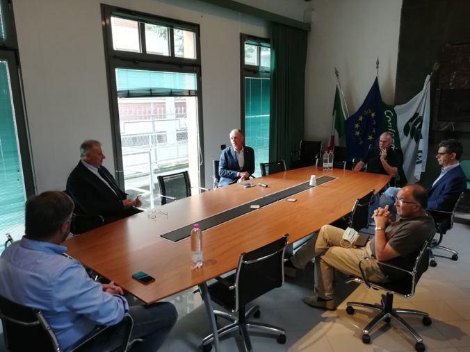 Il tavolo di confronto in Confagricoltura Mantova