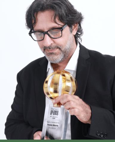 PERICLE ODIERNA Vince il Globo d'Oro