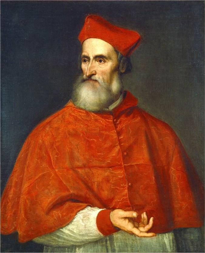 Tiziano, Ritratto del cardinale Pietro Bembo, 1545-1546, olio su tela, 114 x 97 cm, Napoli, Museo e Real Bosco di Capodimonte.jpg
