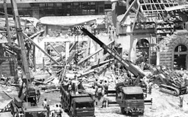 foto della strage di bologna del 2 agosto 1980