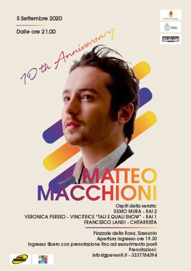 10th Anniversary Matteo Macchioni, Live 5 settembre 20201 copia.jpg