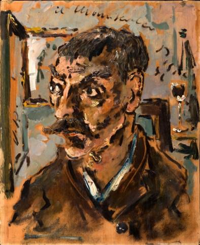 Filippo De Pisis, Il maniscalco, 1941, Olio su tela.jpg