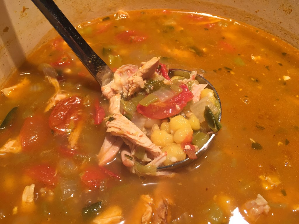 Hominy stew with chicken _ Pozole_Mincoffcafe