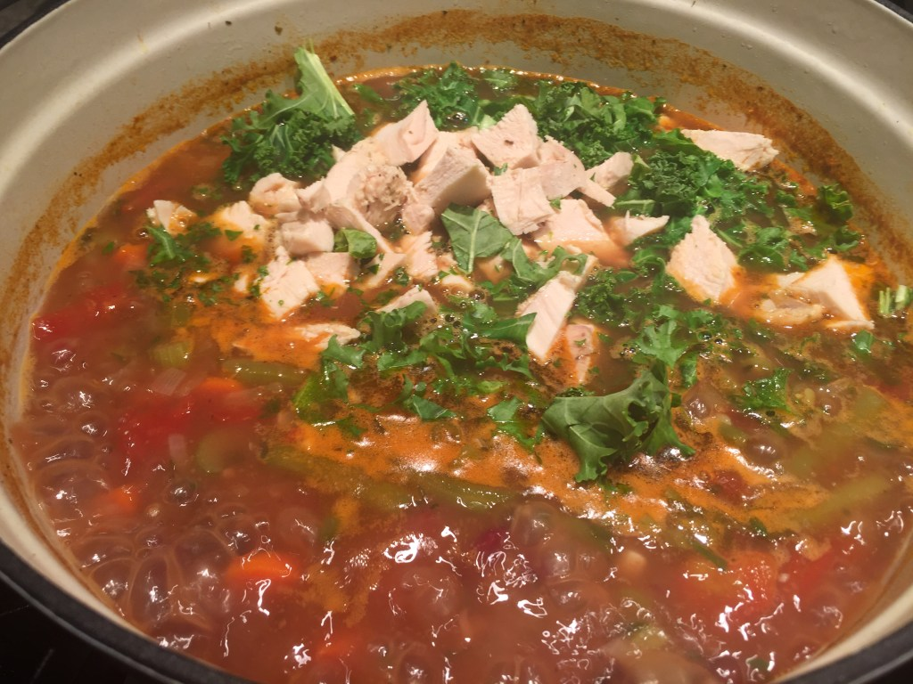 Minestrone Soup w/chicken