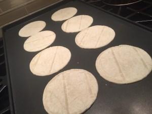 small tortillas for street tacos