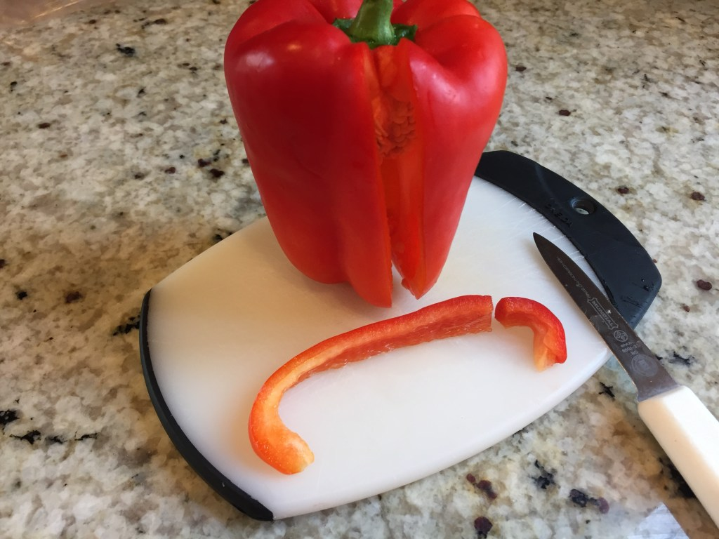 red bell pepper for turkey neck