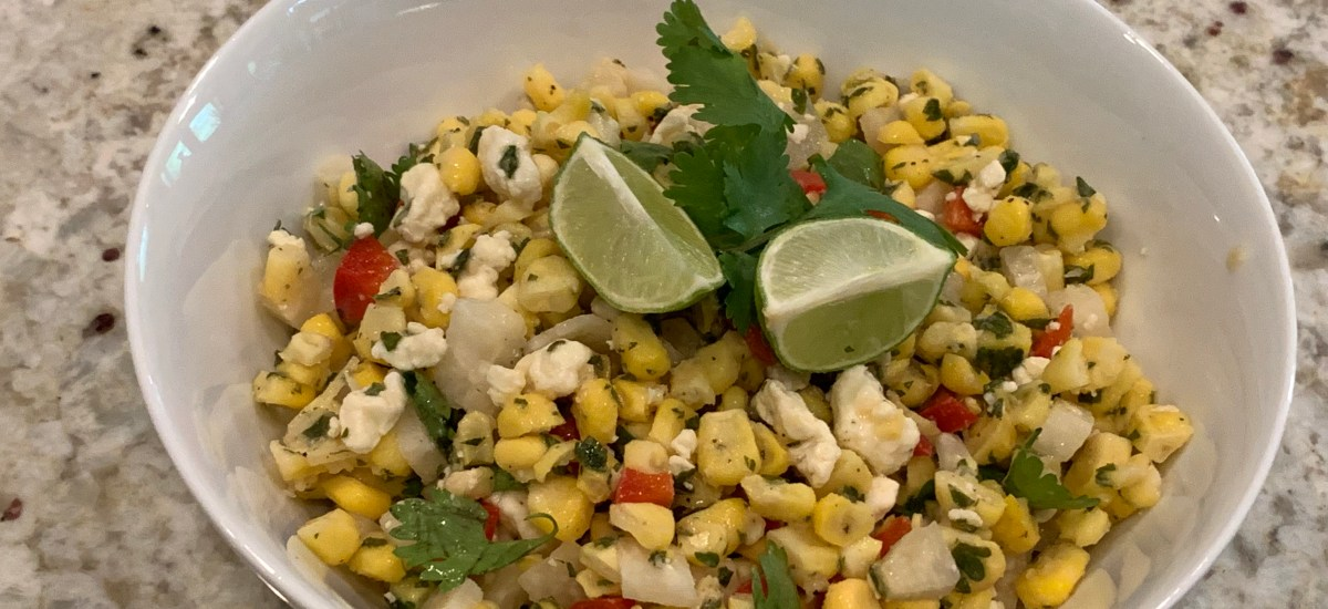 Light Mexican Corn Salad