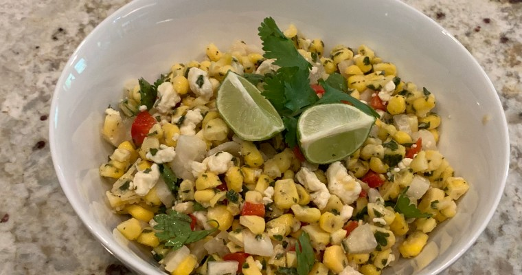 Light Mexican Corn Salad