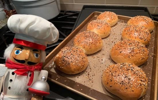 Easy Homemade Hamburger Buns