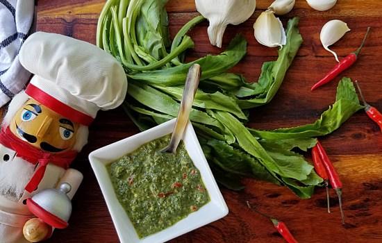Culantro Pesto | Asian Crack Sauce