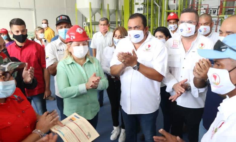 Photo of Inauguración de 2 plantas procesadoras de cereales «Molinos del Sur» en Cojedes