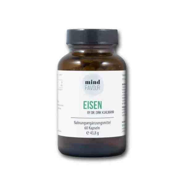 Natürliches Eisen aus Curryblatt-Extrakt Phytoferrin und Vitamin C aus Hagebuttenfruchtextrakt