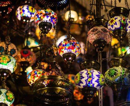 Mosaik-Lampen
